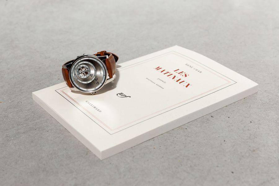 C'est en hommage au recueil de René Char que Gautier Massonneau a baptisé la montre Trilobe «Les Matinaux».