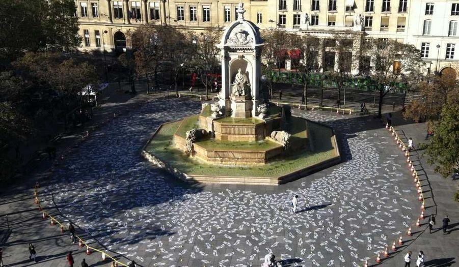 Le Place Saint-Sulpice à Paris