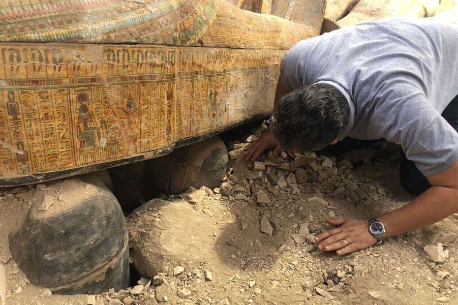 Trente sarcophages vieux de 3 000 ans ont été découverts à Louxor, en Egypte