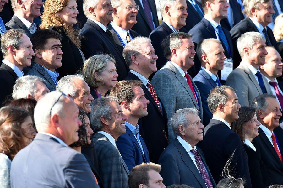 Une centaine d'astronautes se sont réunis à la Cité de l'Espace de Toulouse.