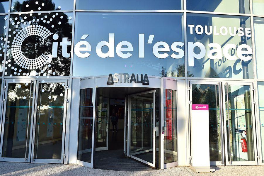 Entrée de la Cité de l'Espace de Toulouse.