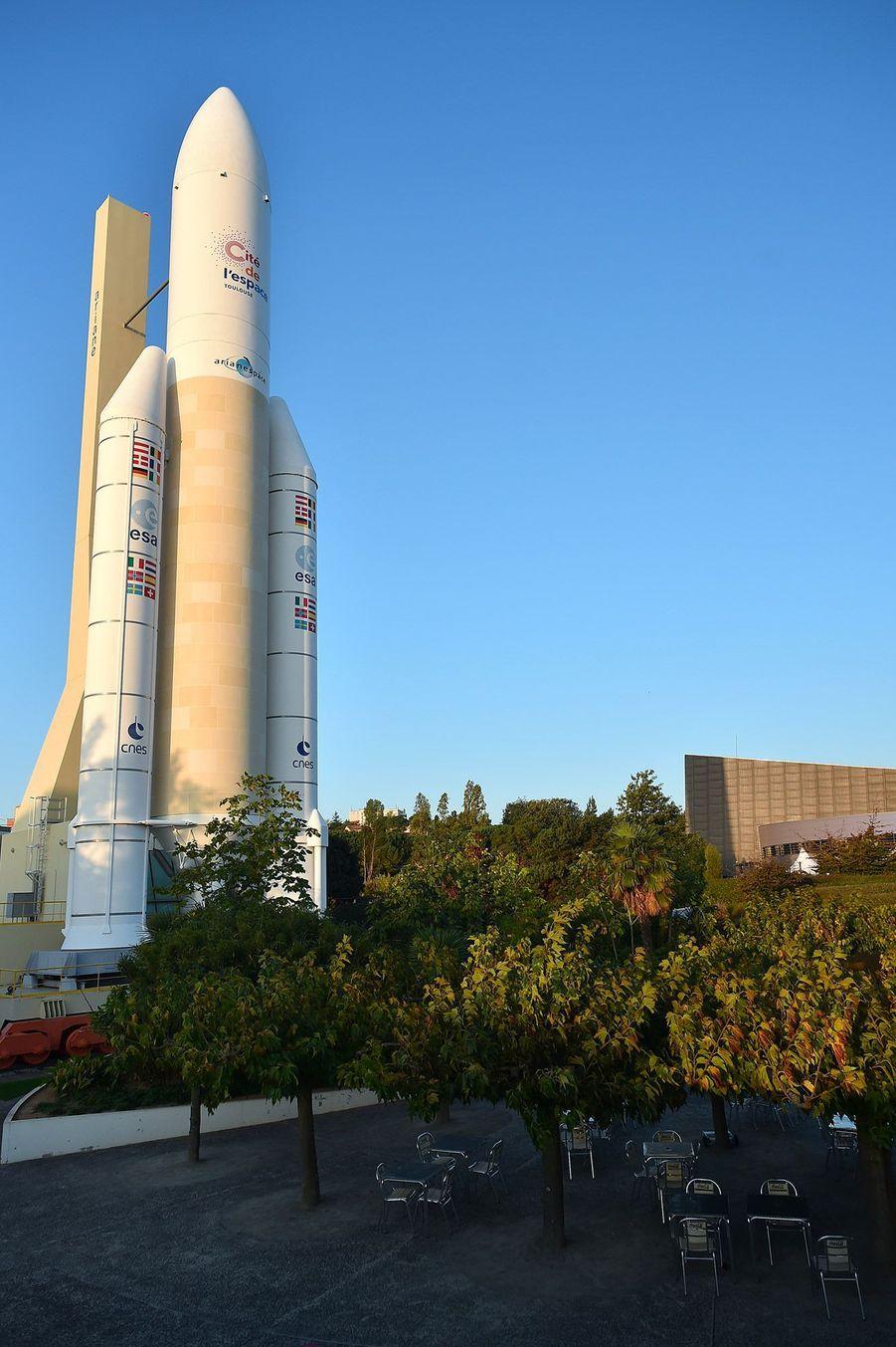 La fusée Ariane.