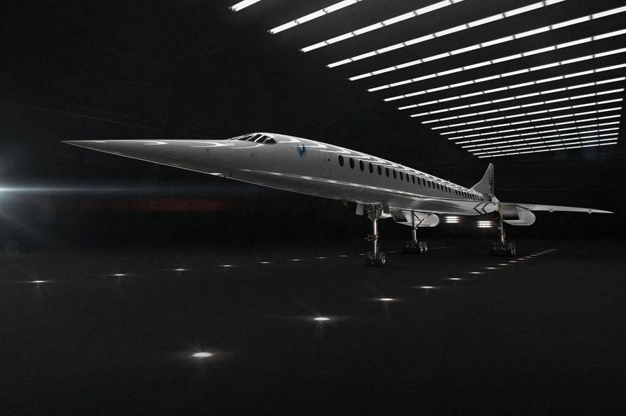 """""""Ouverture"""", le projet d'avion supersonique de Boom, pour effectuer des vols commerciaux."""