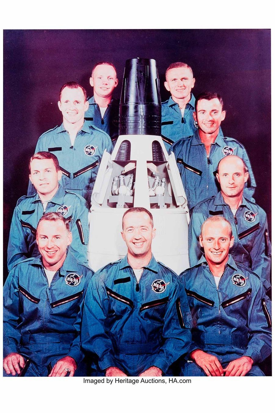 06 Gemini Neil Armstrong's Owned and Worn Early Flight Suit Image credit Heritage Auctions