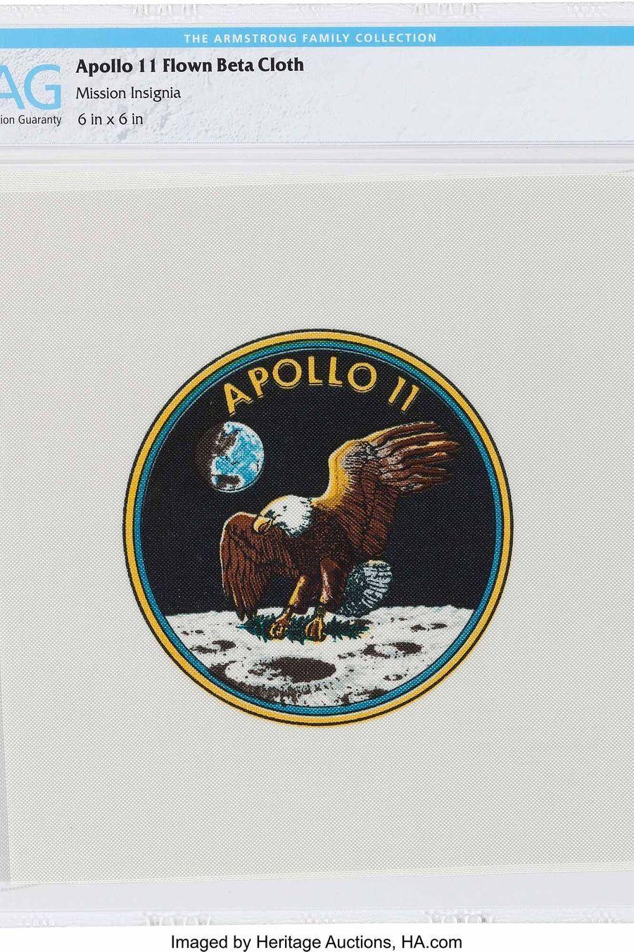 Logo de la mission Apollo 11.