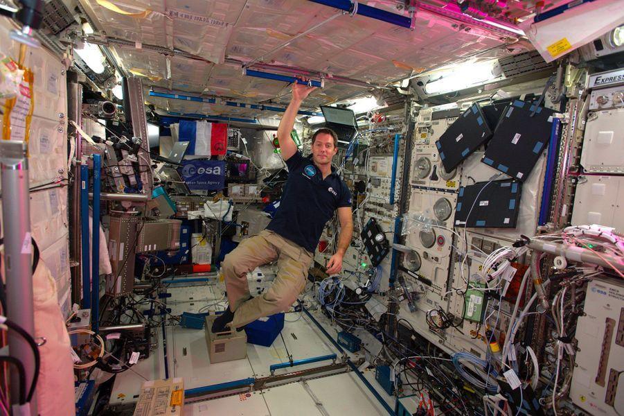 Dans le laboratoire spatial