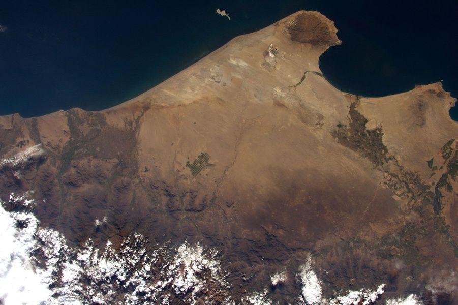Le Pérou vu depuis l'ISS