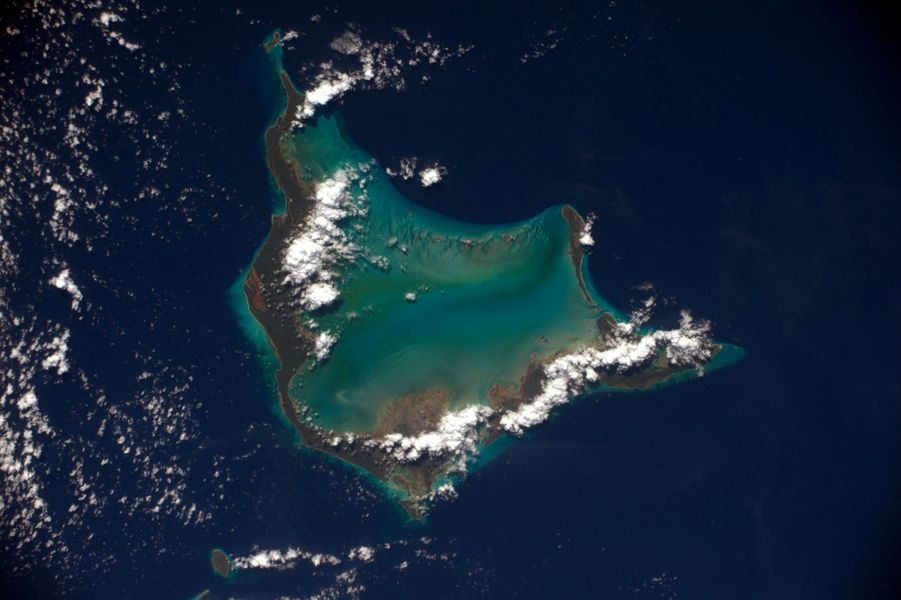 """La """"Crooked island"""" aux Bahamas"""
