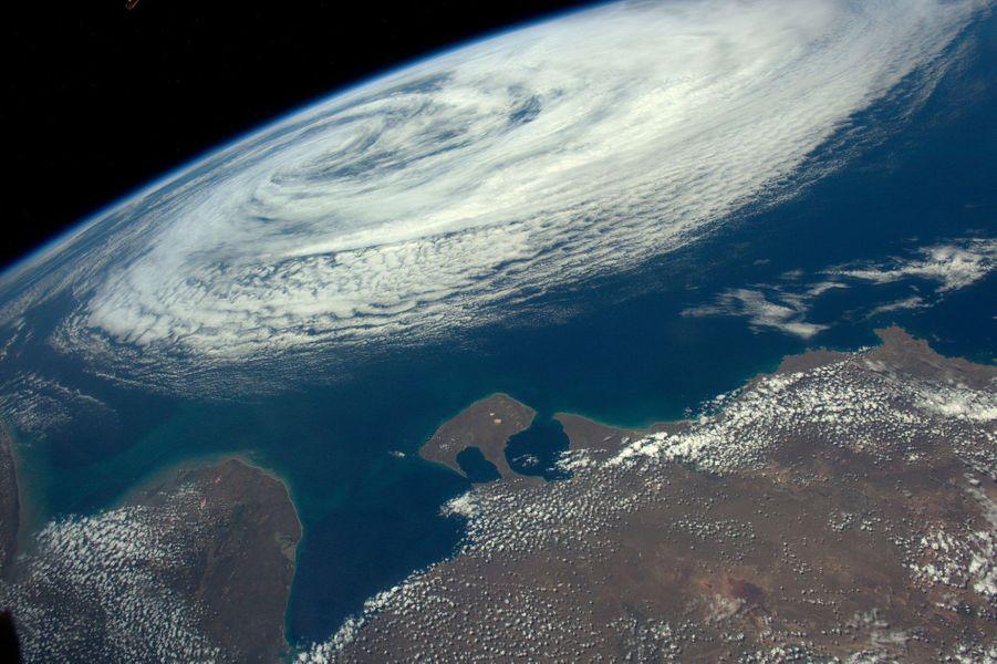 Tempête tropicale près de l'Argentine