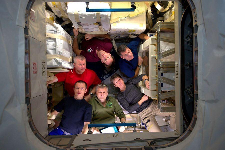 Les colocataires dans l'ISS