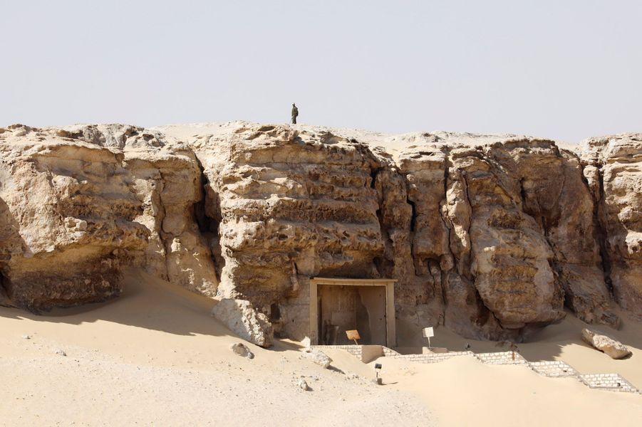 Le sitearchéologique de Touna el-Gebel