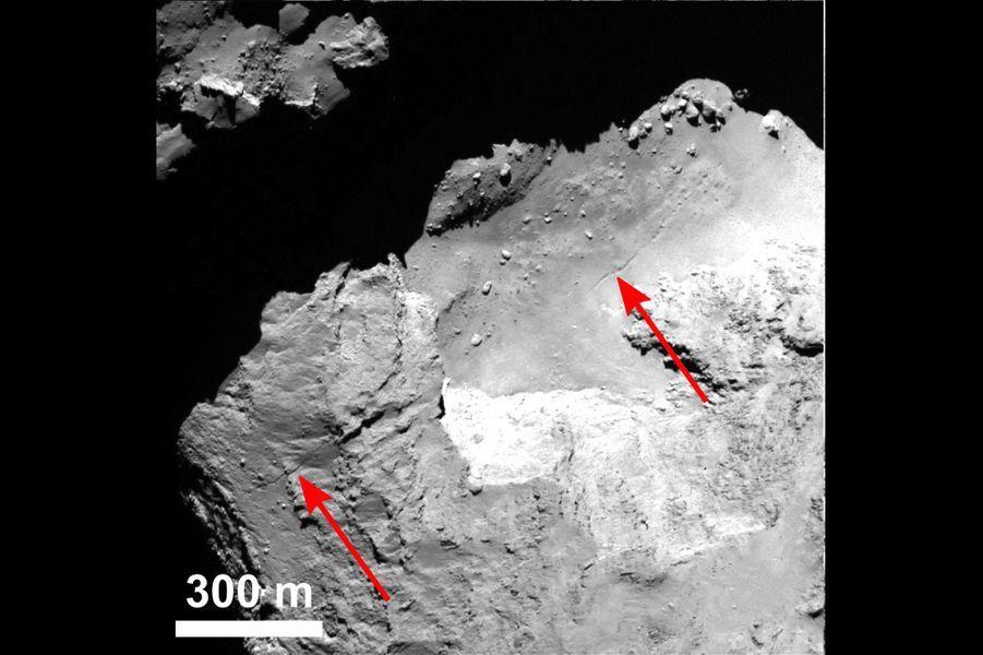 Les images de la comète Tchouri, par la sonde Rosetta et la caméra Osiris