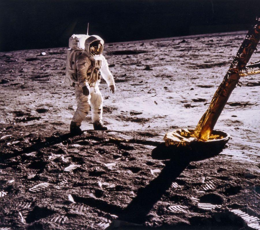 Buzz Aldrin photographié par Neil Armstrong