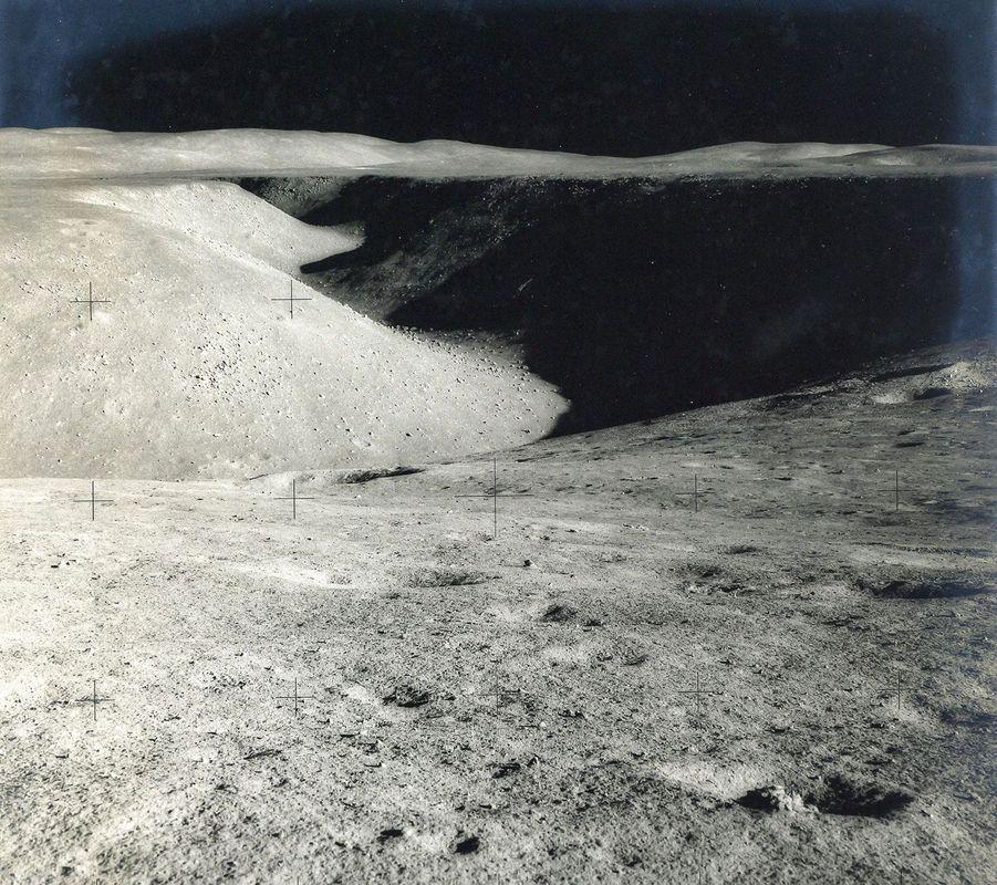 La crevasse Hadley, août 1971, mission Apollo 15