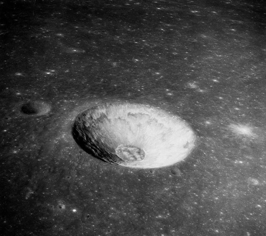 Mare Tranquillitatis, immortalisé pendant la mission Apollo 10, en mai 1969
