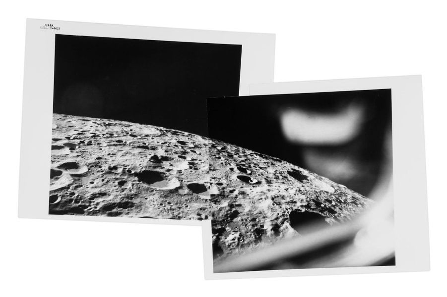 Panorama lunaire, mission Apollo 10, mai 1969