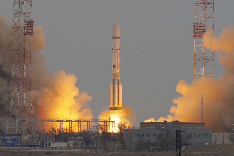 ExoMars 2016 entame son voyage vers la planète rouge