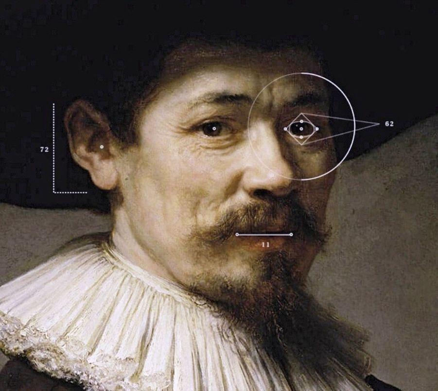 « Le prochain Rembrandt » : exposé à Amsterdam en 2016 (à dr.), ce tableau inédit a été créé par un ordinateur d'après l'analyse d'oeuvres du maître flamand.