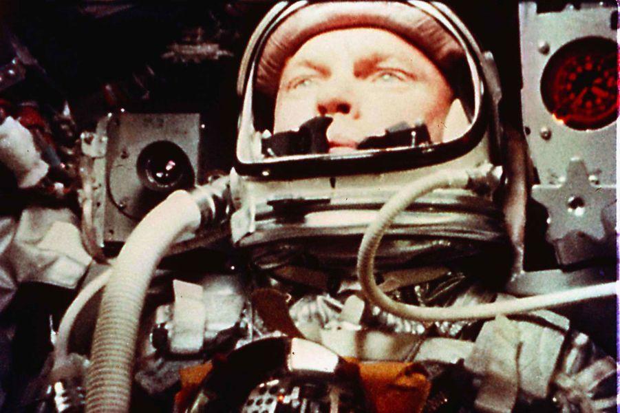 Dans la capsule,le 20 février 1962