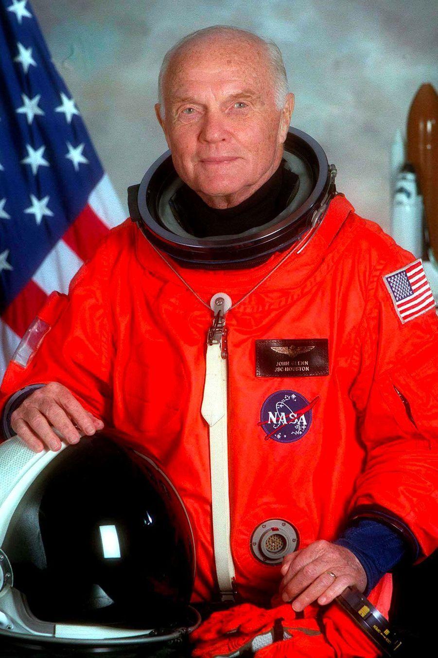 John Glenn, le 19 juin 1998