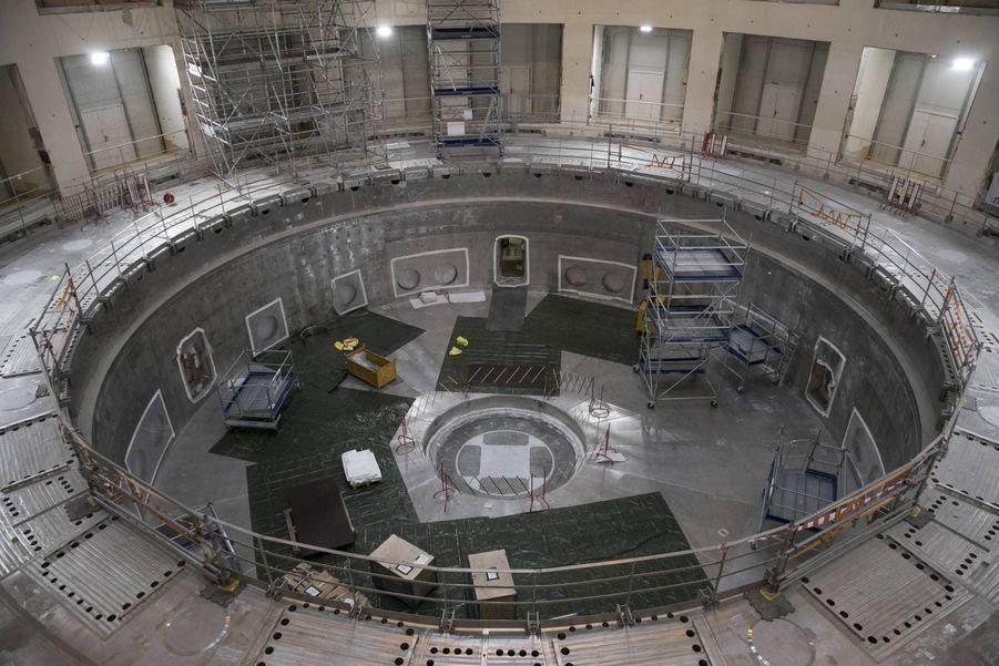 La base du réacteur.