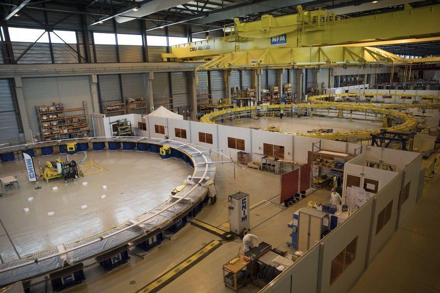 Les pièces du réacteur à fusion Iter.