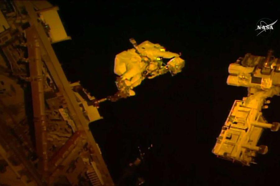 Le saut dans l'espace !