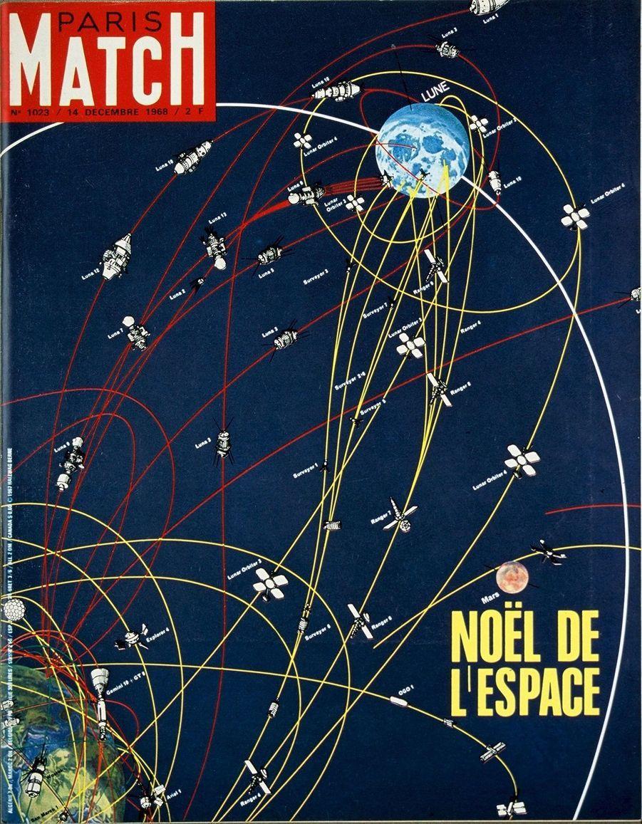 Paris Match n°1023 du 14 décembre 1968