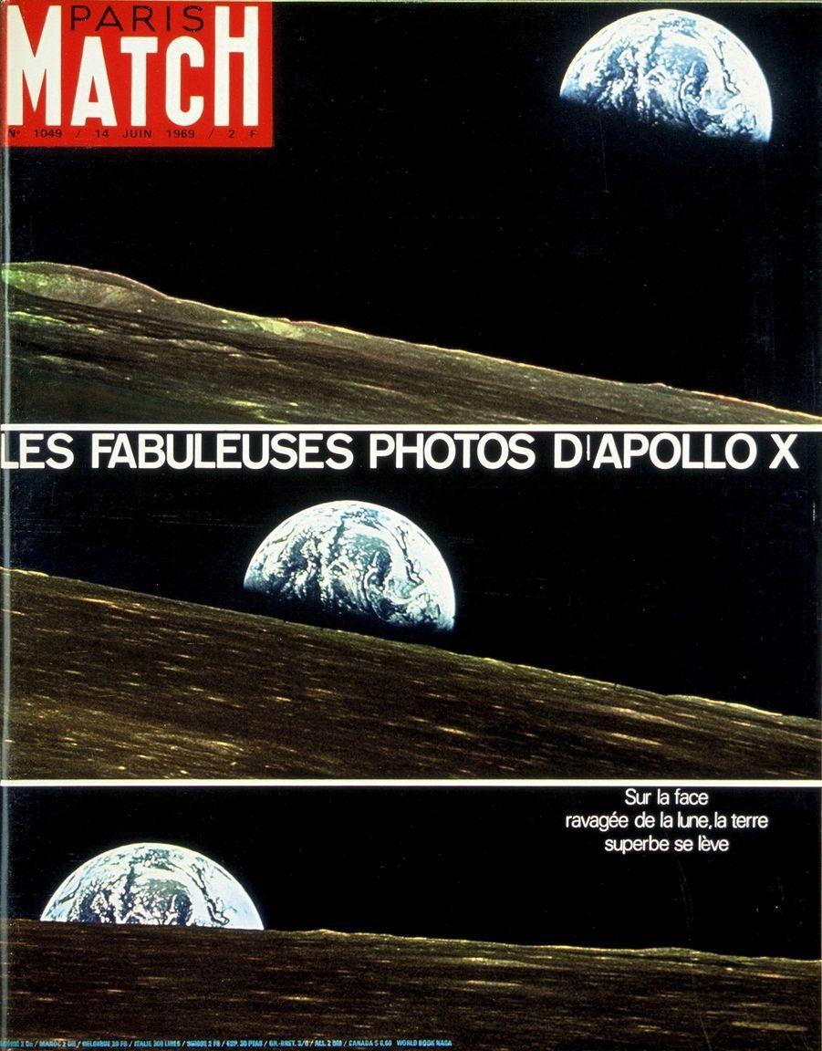 Paris Match n°1049 du 14 juin 1969