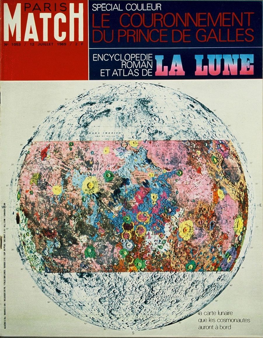 Paris Match n°1053 du 12 juillet 1969