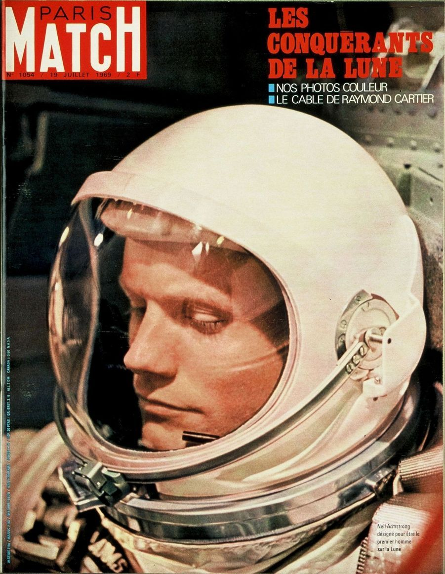 Paris Match n°1054 du 19 juillet 1969