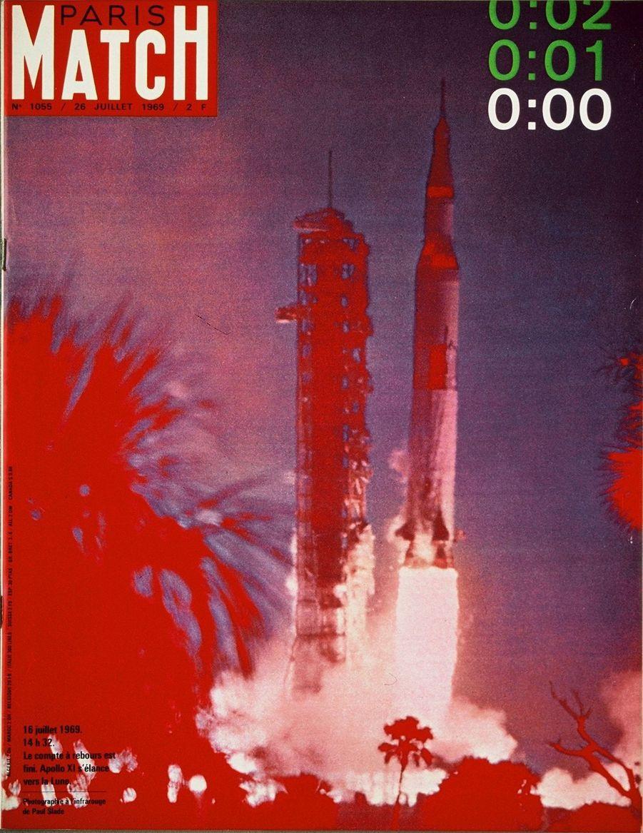 Paris Match n°1055 du 26 juillet 1969