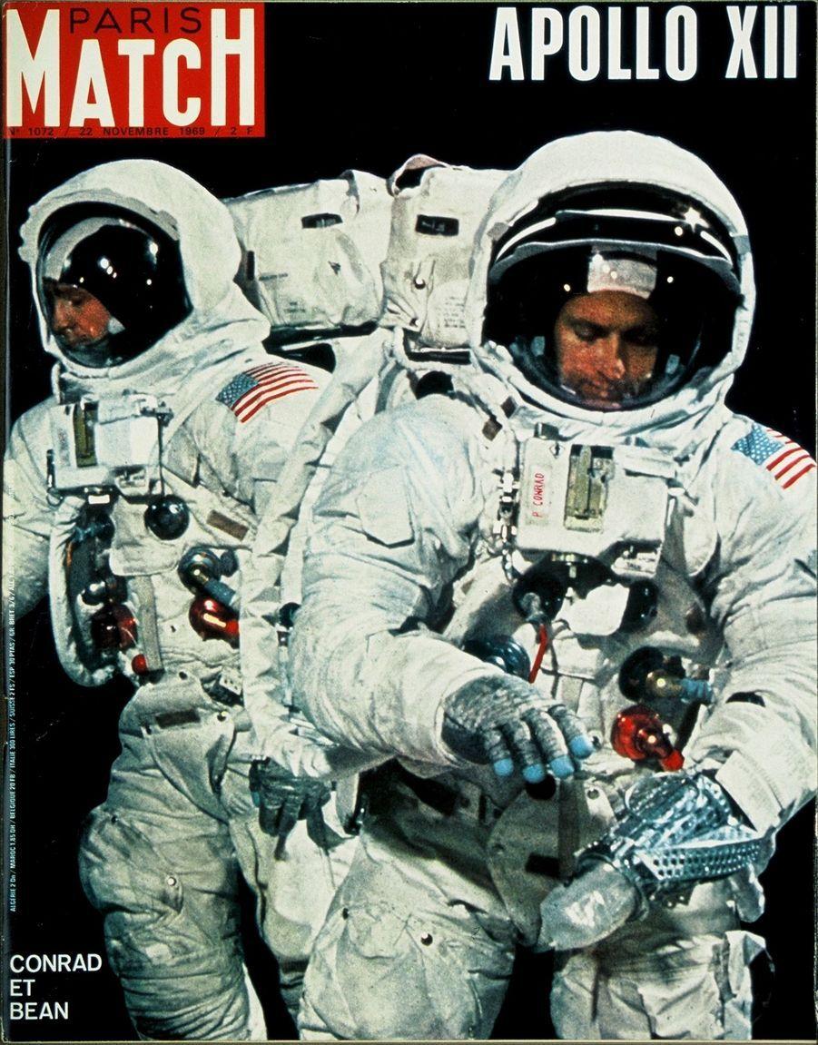 Paris Match n°1072 du 22 novembre 1969