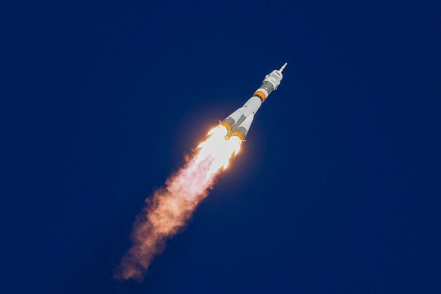 Le vol de la fusée Soyouz