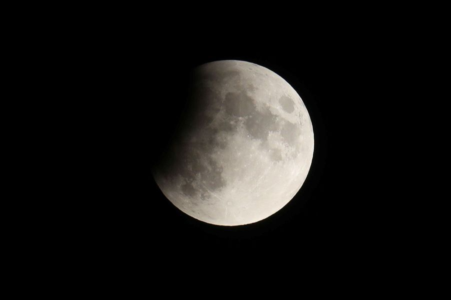 L'éclipse visible non loin deUrnäsch, Suisse