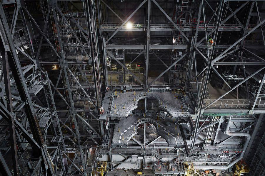 Structure de construction des véhicules spatiaux.