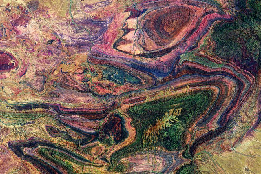 Juillet. Lachaîne de Flinders, la plus longue chaîne de montagne et parc national d'Australie-Méridionale, sur le continent australien.