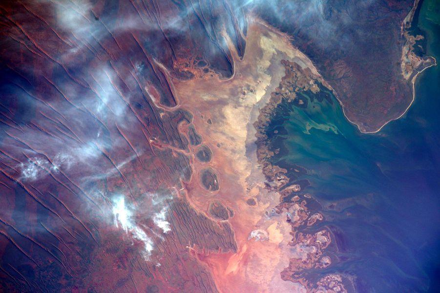 Le nord-ouest de l'Australie, depuis l'ISS