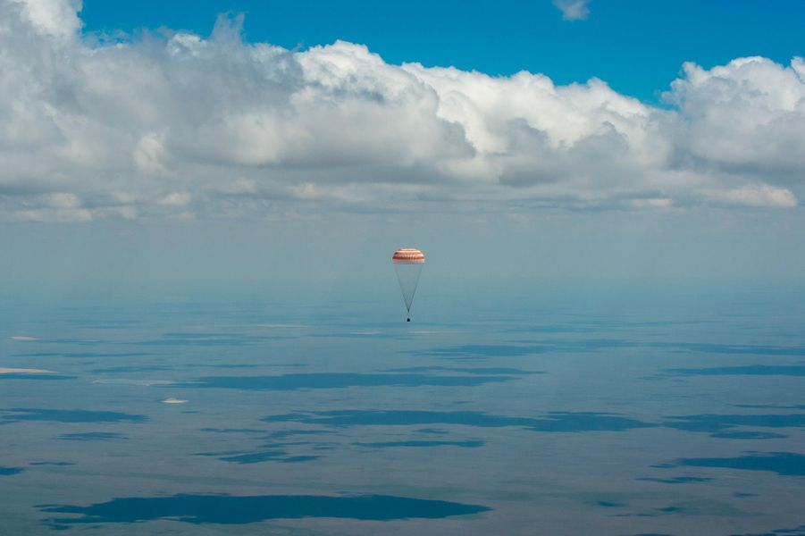 Quand l'expédition n°47 est revenue sur Terre après un séjour dans l'ISS
