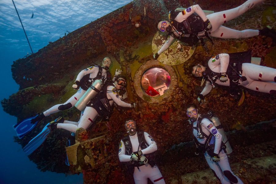 Souvenir de la mission sous-marine NEEMO 21