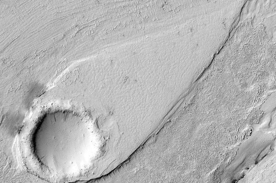 La valléeLethe Vallis sur la planète Mars