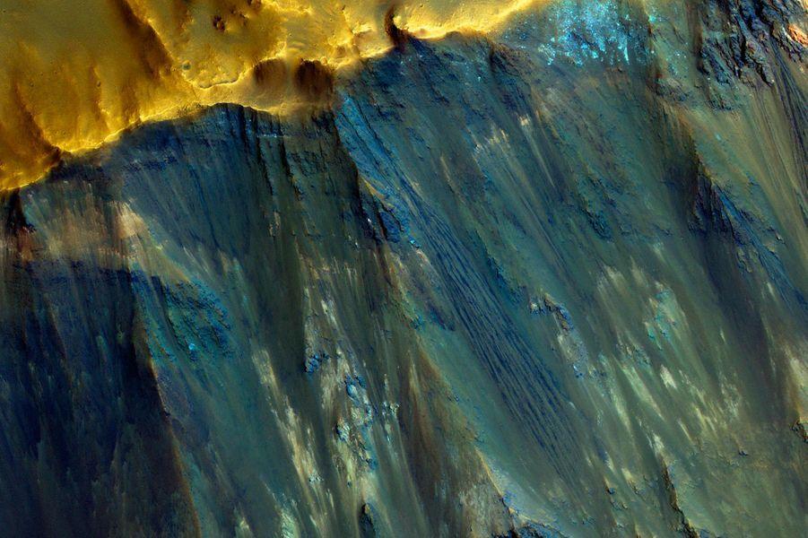 Un autre cratère martien