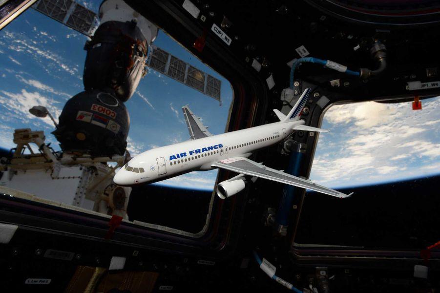Thomas Pesquet était pilote Air France avant de devenir astronaute