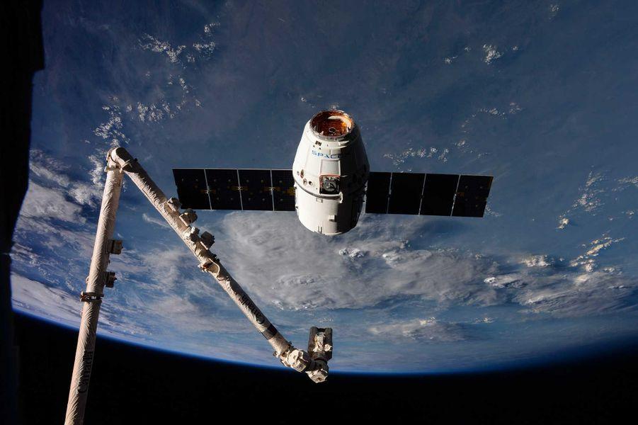 Les astronautes ont reçu un ravitaillement fin février