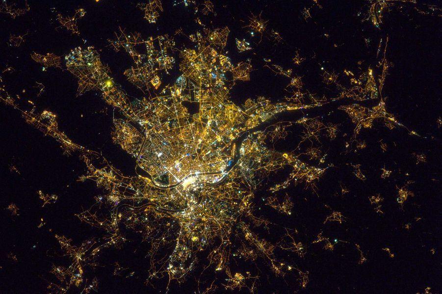 Lyon, de nuit