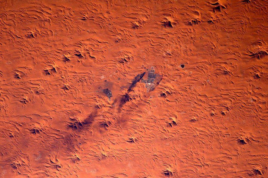 Un puit de pétrole au Maroc
