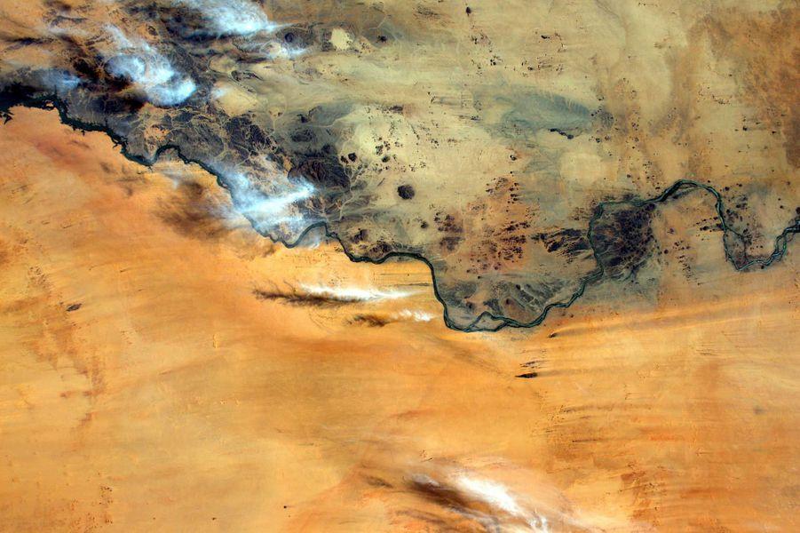 Une rivière au Soudan