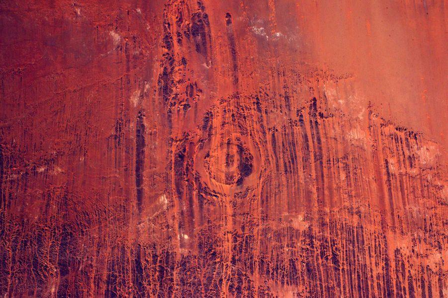 L'érosion au Sahara