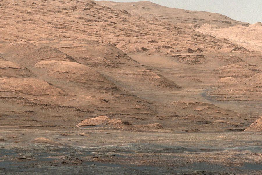 Les plaines de Mars