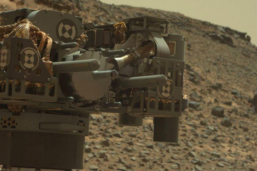 Curiosity et ses équipements
